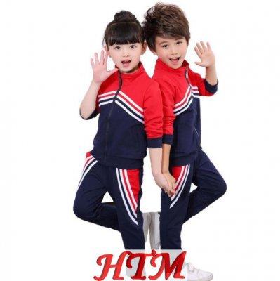 秋冬儿童校服丝盖棉幼儿园园服套装 HTM-S43 36-6816