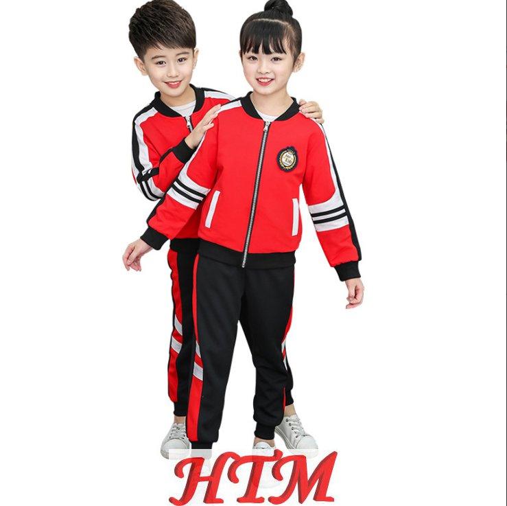 儿童校服运动装纯棉幼儿园园服套装HTM-S43 36-6829