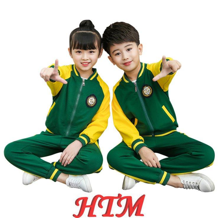 儿童校服运动装棉毛圈幼儿园园服套装HTM-S4136-6837