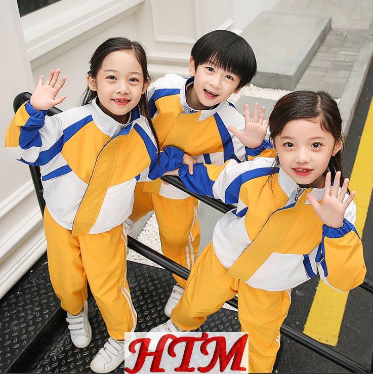 小学生校服儿童班服中学生学院风校服两件套HTM-S70 KLML-926
