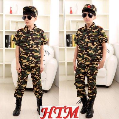 迷彩服套裝學生軍訓服特種兵耐磨HTM-S32 152-NM001