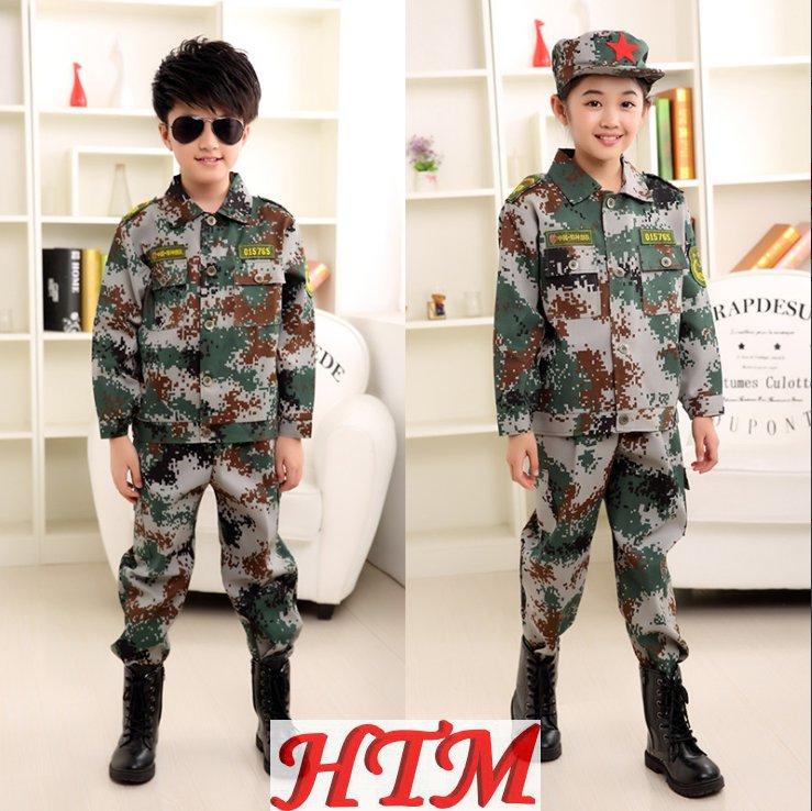 迷彩服套装学生军训服特种兵耐磨HTM-S32 152-NM001