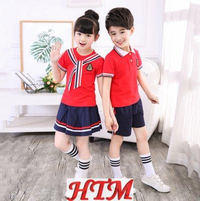 新款精梳紧密纯棉领带中小学生校服HTM-S33 36-TL1828