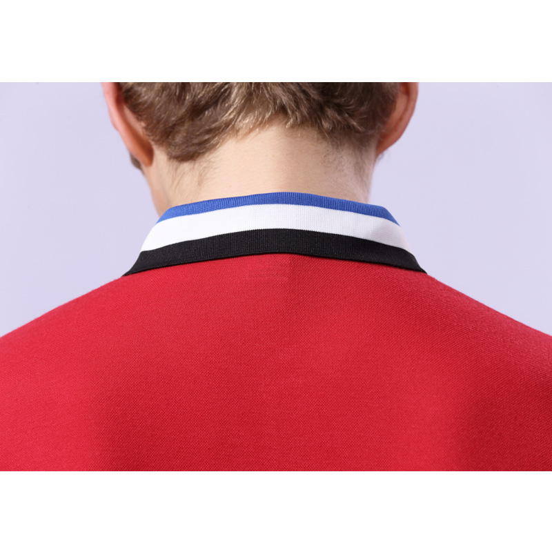 定制t恤间色翻领polo衫工作服定做短袖文化广告衫班服毕业服印字