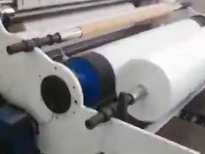 熔喷布筛选出运行视频
