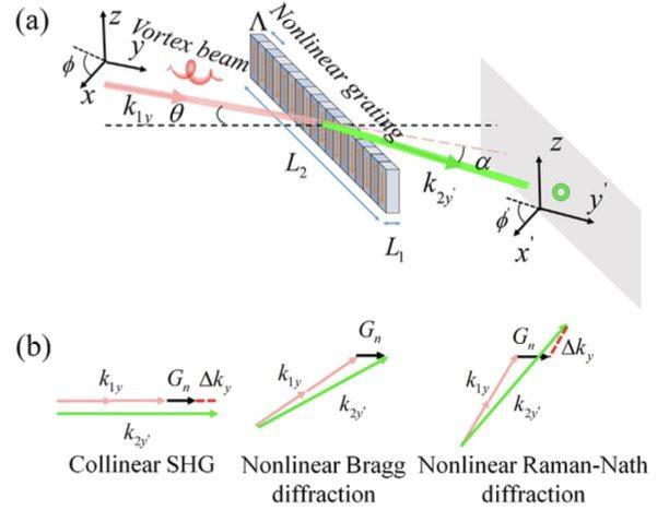 南京大学在轨道角动量的非线性频率转换机制研究方面取得重要进展