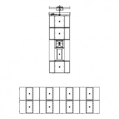 VHD5.0系列 超大型五分频点阵系统