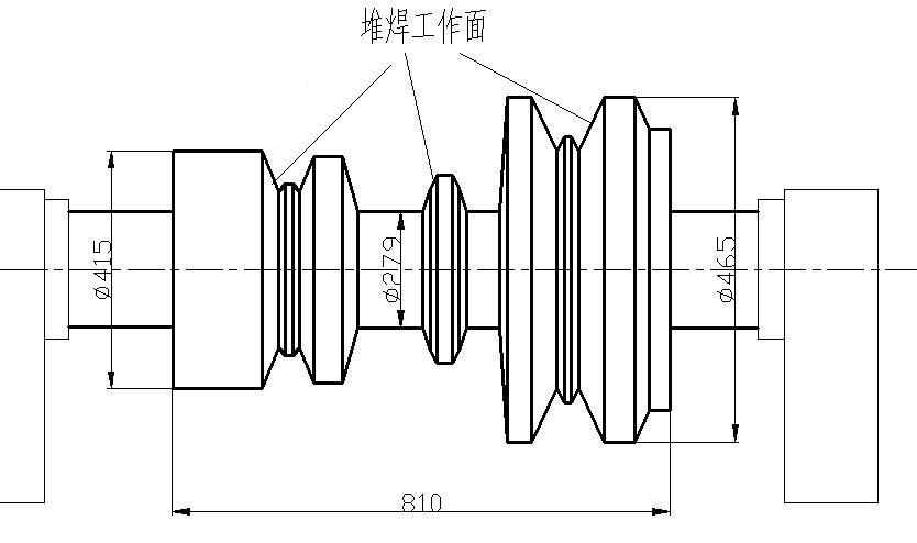 轧辊堆焊材料选择