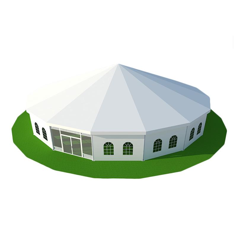 蒙古包帐篷户外大型遮阳雨棚住宿酒店农家乐餐饮活动保暖帆布帐篷