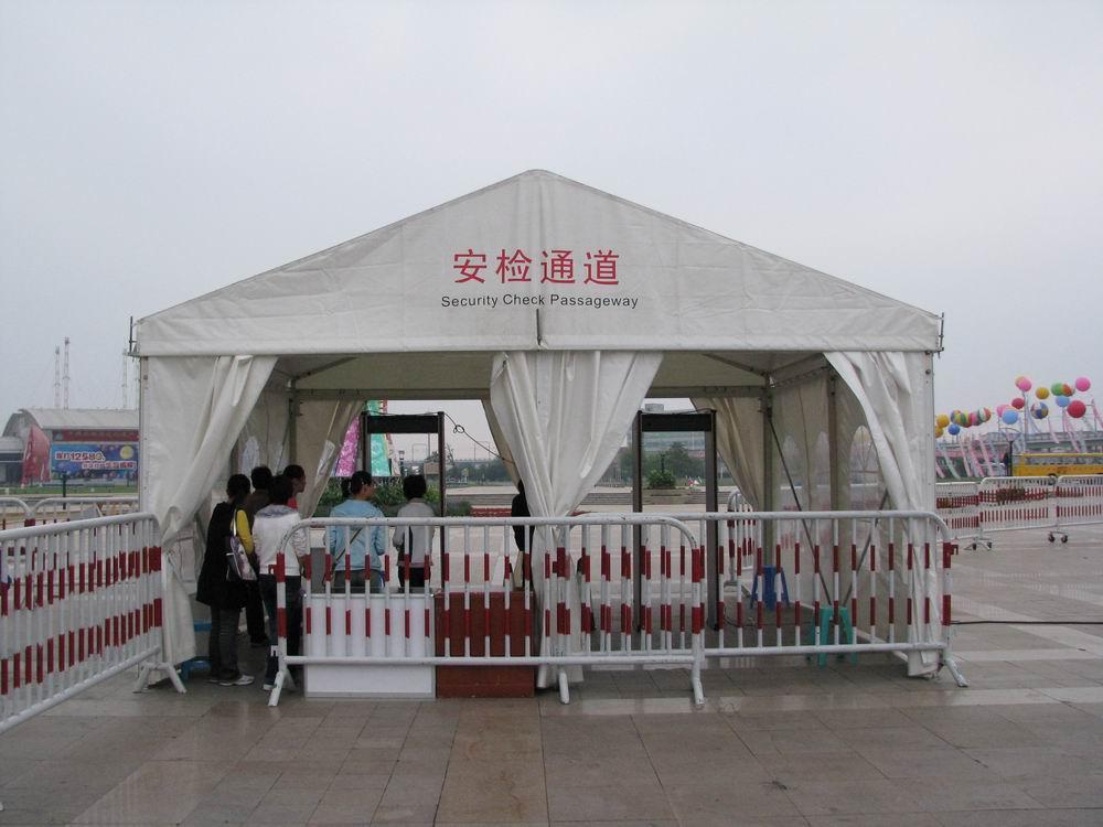 伟众篷房展览户外人字顶