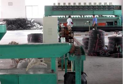 钢丝增强格栅生产线