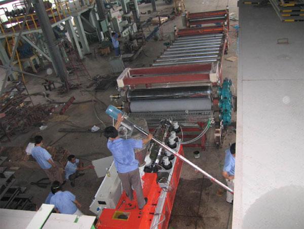 PVC防水卷材机组