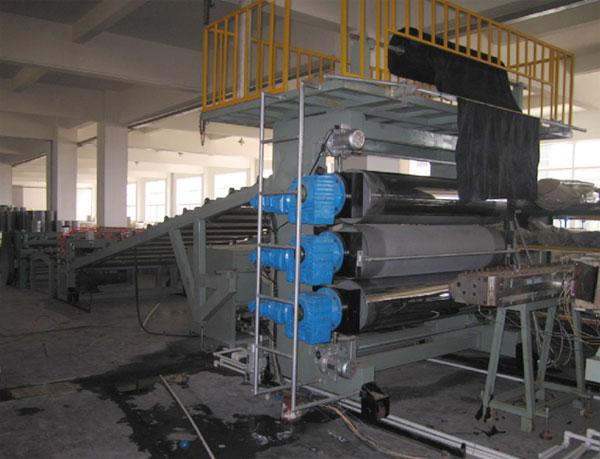 塑料板材机组 制板机 板材机