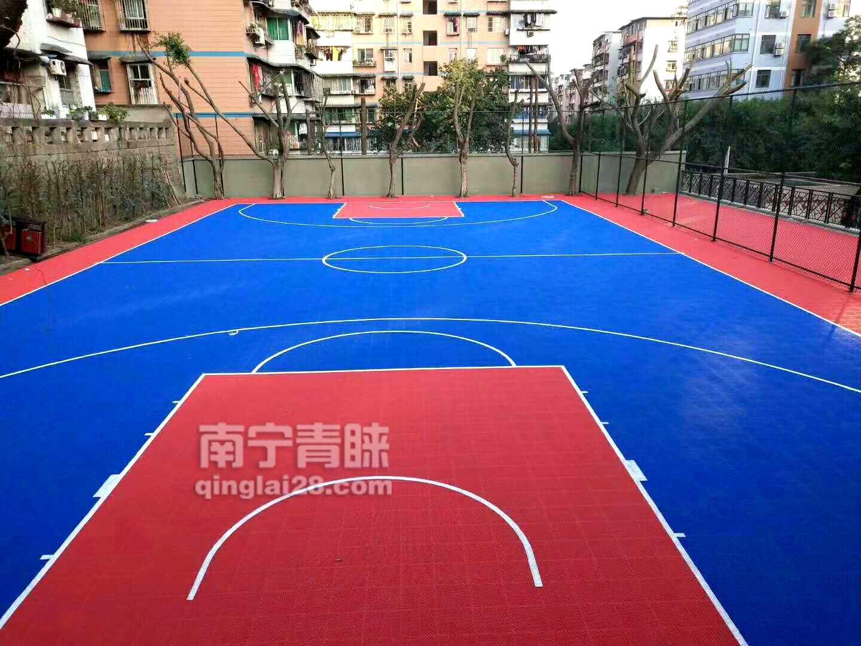 懸浮拼接地板籃球場