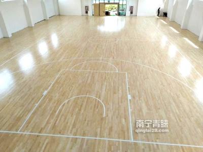 南寧某財政局木地板籃球館