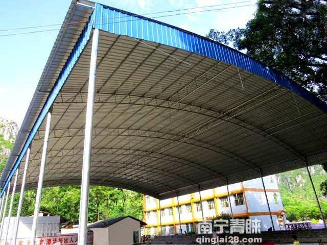 上林排岜庄农民体育馆