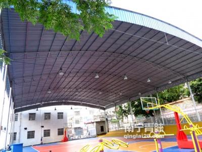 南宁周边社区综合体育馆钢结构棚