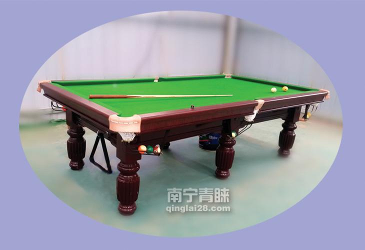 河池高速球馆台球桌
