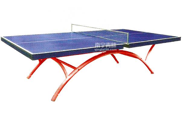 JA-1105室外彩虹腳乒乓球臺