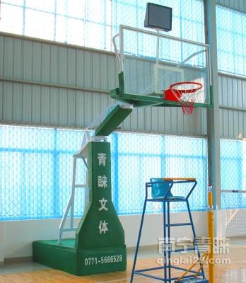 上林球館電動液壓籃球架