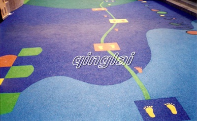 幼儿园欢乐足迹图形