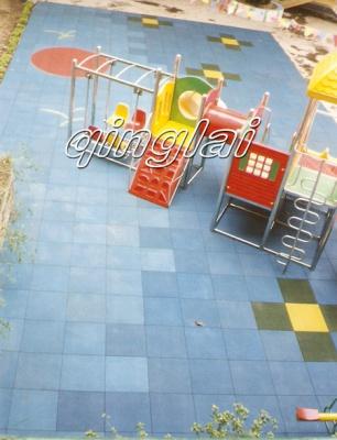 多彩安全地垫儿童游乐场