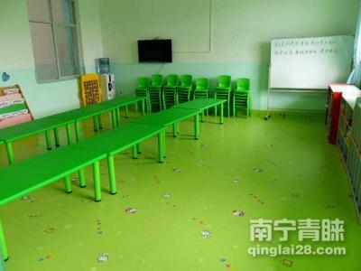 钦州第五幼儿园PVC地板