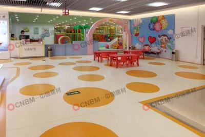 萬達廣場PVC地板2