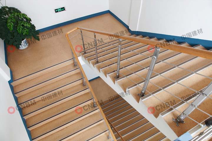 拱墅區上塘街道社區服務中心PVC地板2