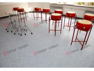 东胜路小学音乐教室PVC地板