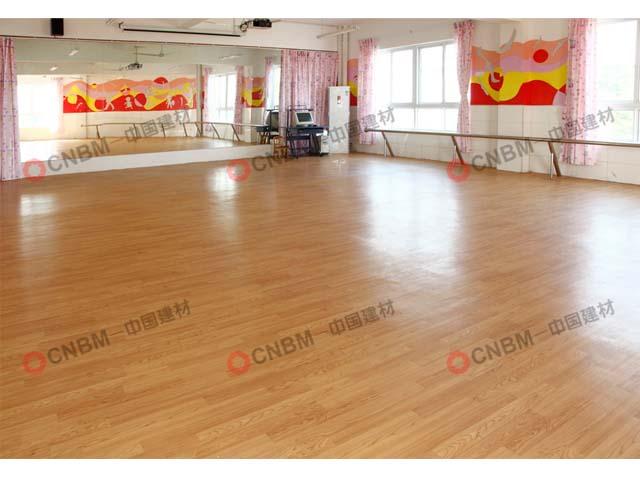 东一幼儿园PVC地板3