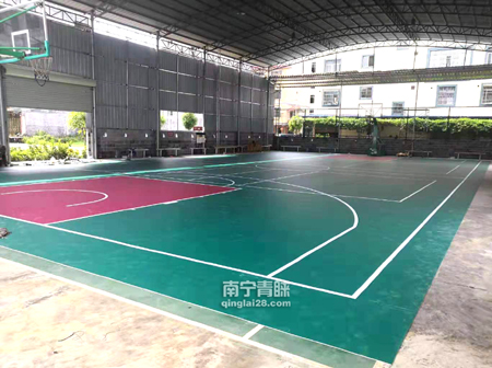 百色俱乐部PVC篮球馆2