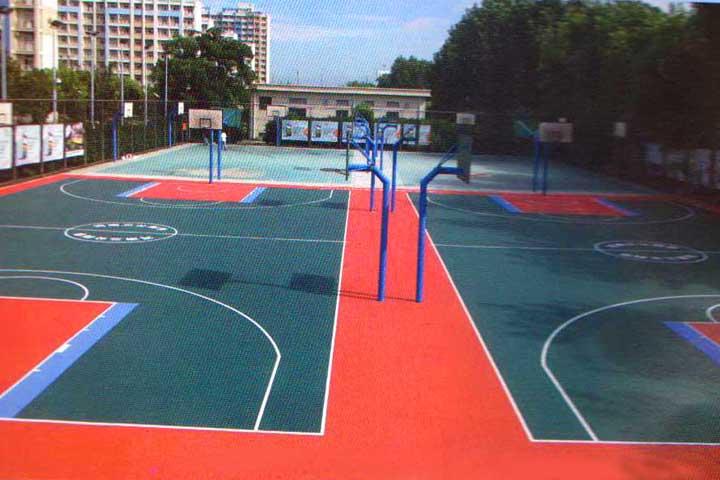 上海交大籃球場