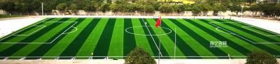 上林初中11人制人工草足球场