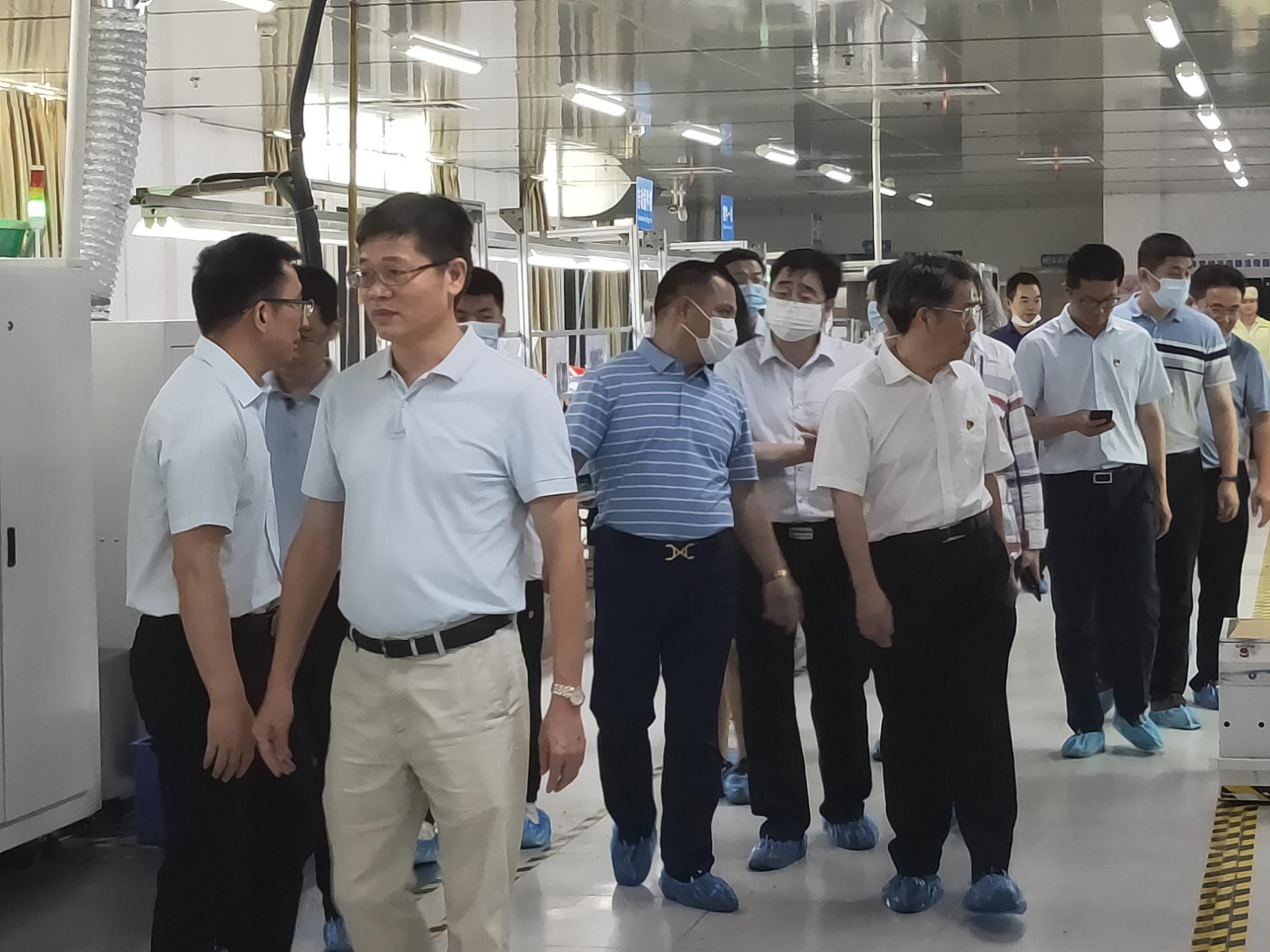 省联合调研组莅临辉骏科技集团 调研企业发展情况