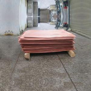 Wet-electrolytic Copper