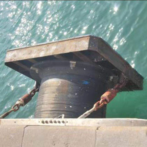 Marine rubber fender systems