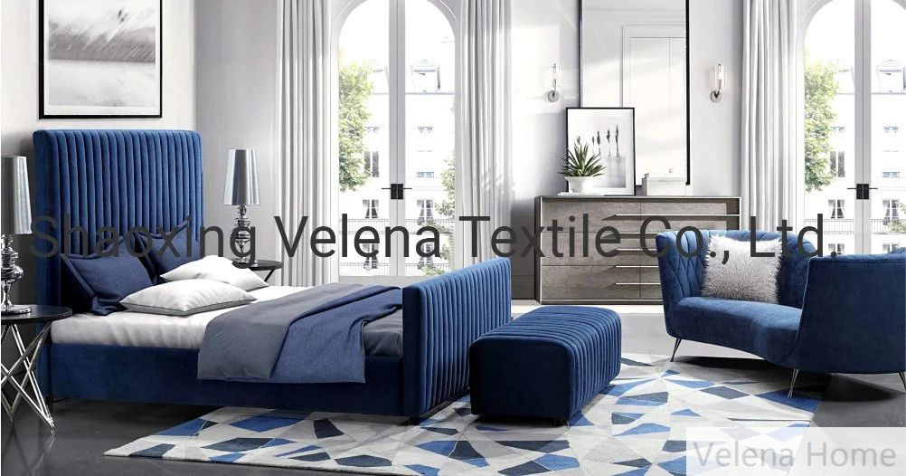 Nordic Style Polyester Holland Velvet Thickened Upholstery High-Grade Fabric