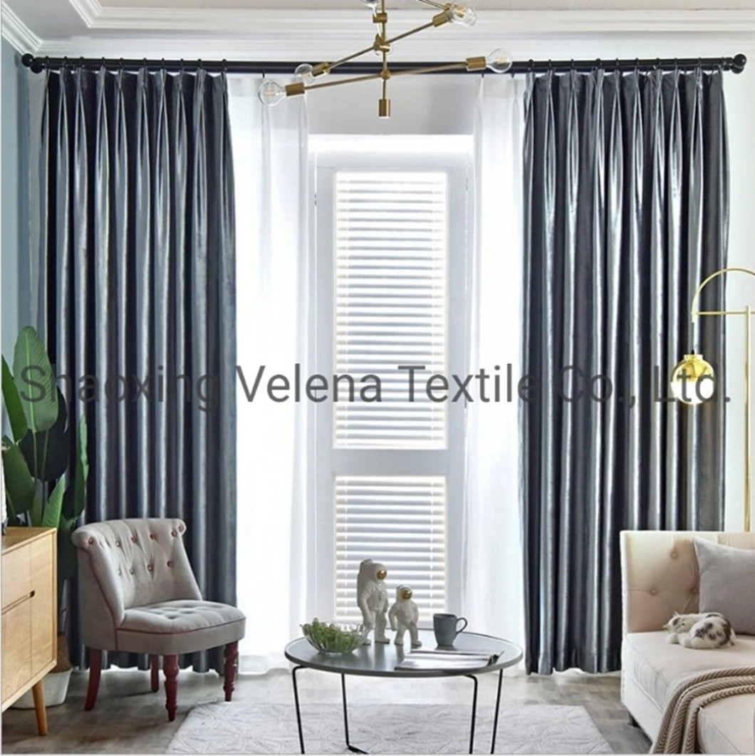 Hot Sale Italy Velvet Original Dyeing Textile Upholster Fabric Curtain Fabrics