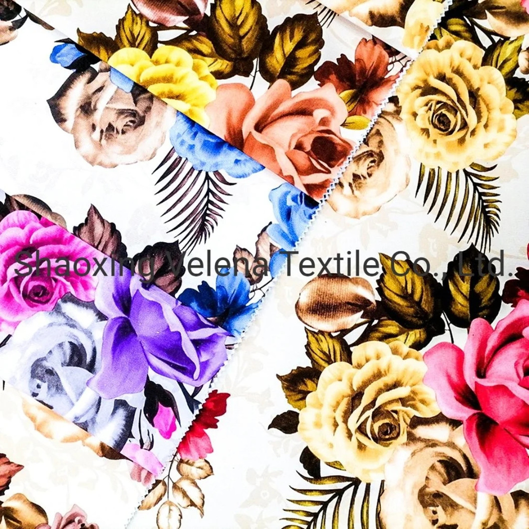 Best Price Printing with Fleece Backing Velvet Fabric Home Textile