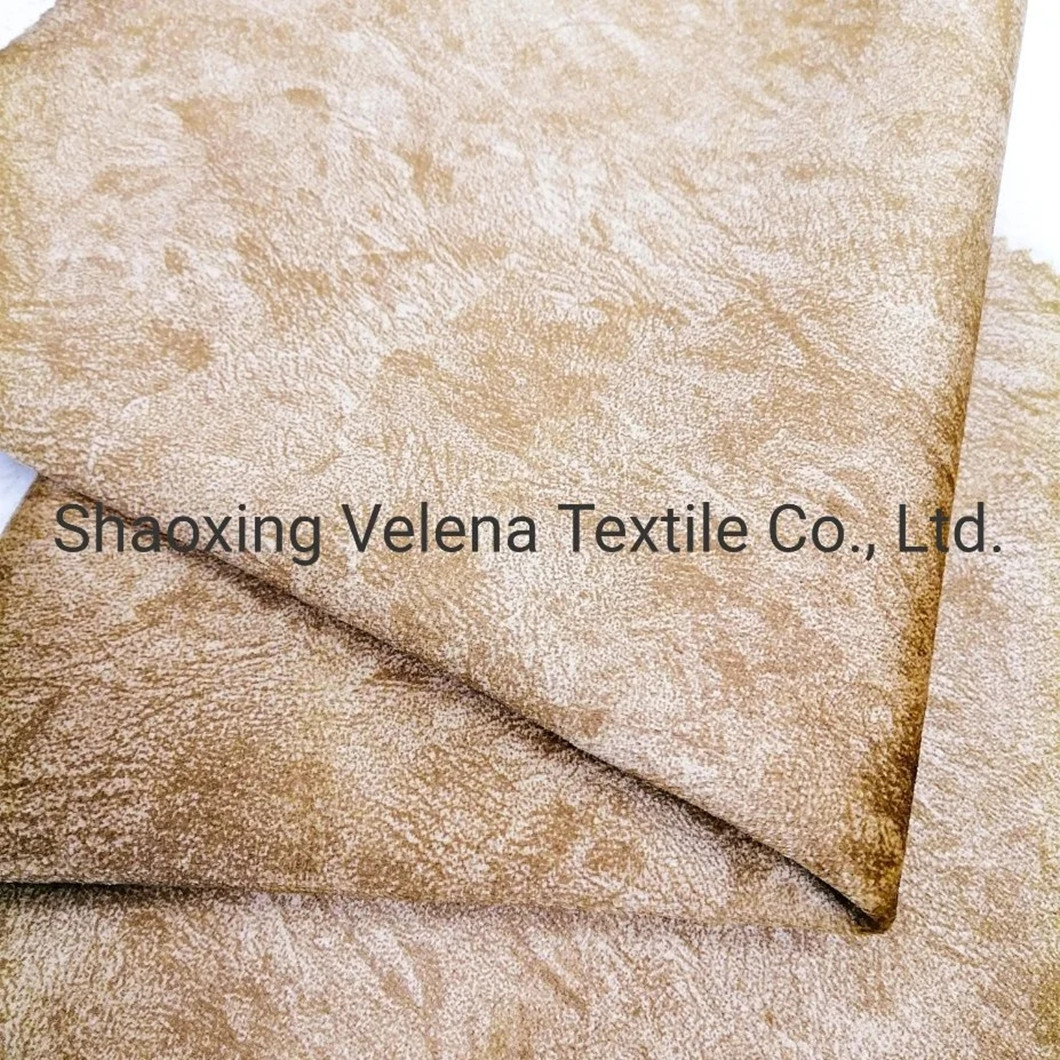 New Furniture Fabric of 100% Polyester Holland Velvet Printing Warp Knit Furniture Sofa Fabric