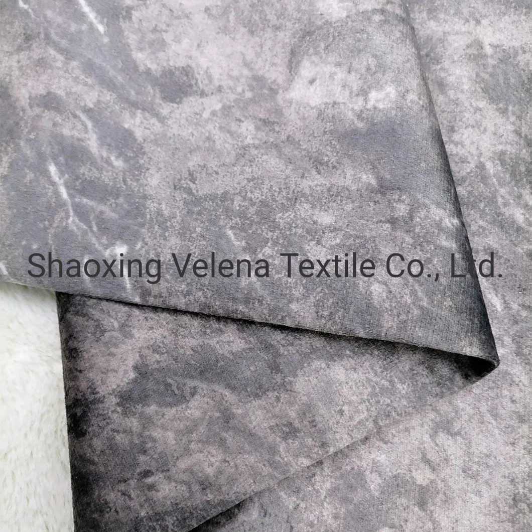 New Design Holland Velvet Print Upholstery Luxury Furniture Fabric for Sofas and Curtains