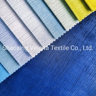 Polyester Holland Velvet Textile Fabric Upholstery Furniture Fabric for Sofa
