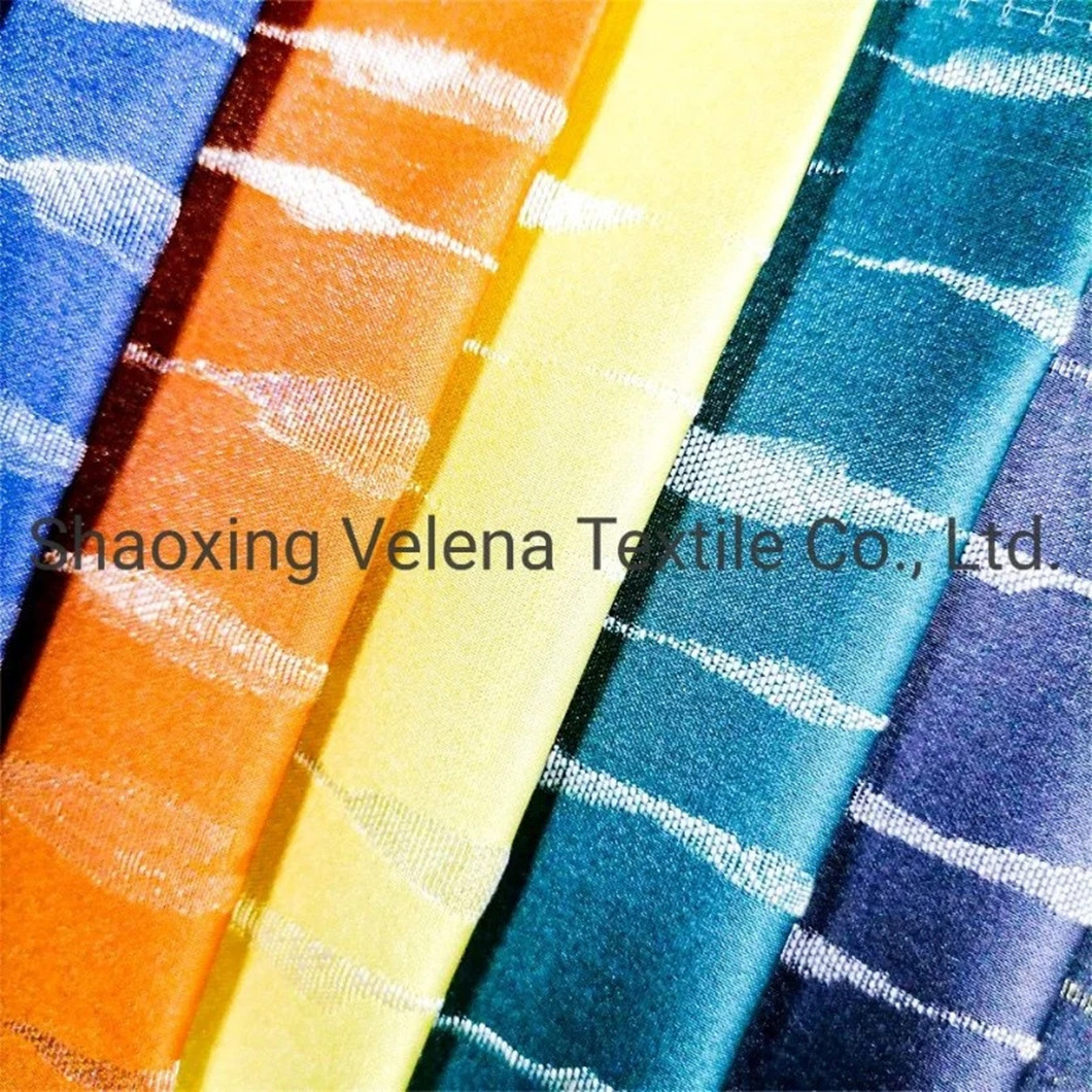 New Design Jacquard Home Textile Upholstery Fabric Curtain