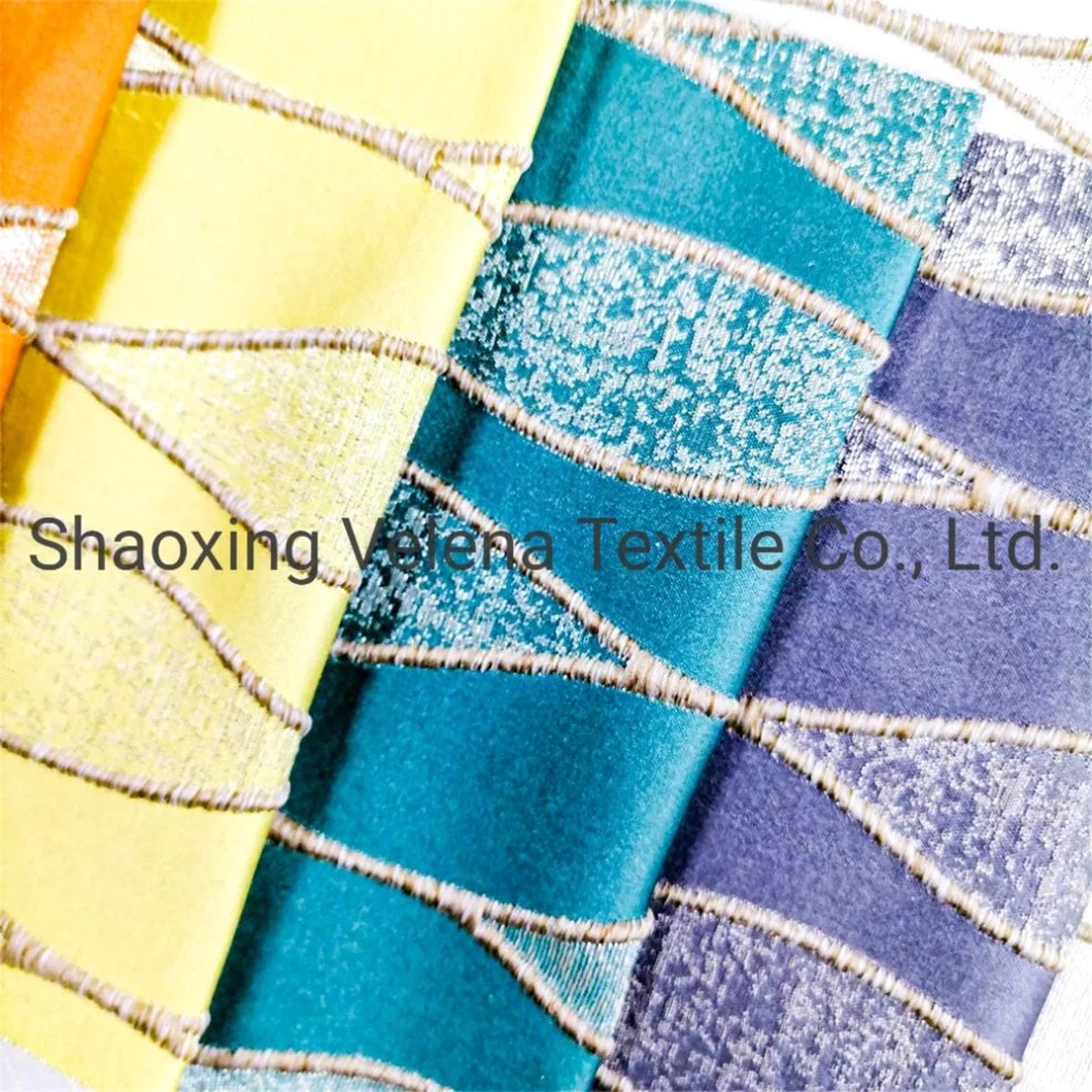 High Quality Jacquard Upholstery Home Textile Fabric For Sofa Curtain