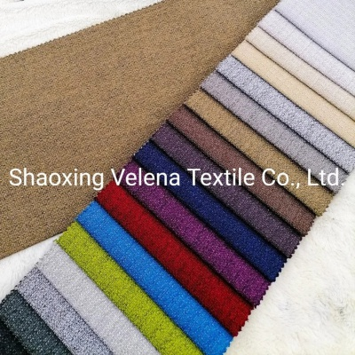 Hot Sell Polyester Linen Type Curtain Sofa Fabric Upholstery Textile Fabric