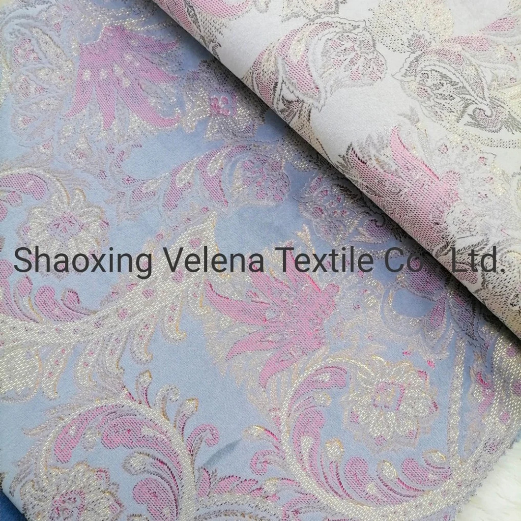 Fashion Design Digital Foil Holland Velvet Fabric Home Textile Fabric for Sofa Curtain