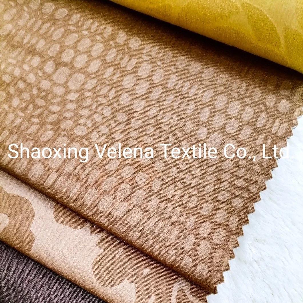Glue Emboss Velvet Fabric Upholstery Fabric Home Textile Fabric for Sofa