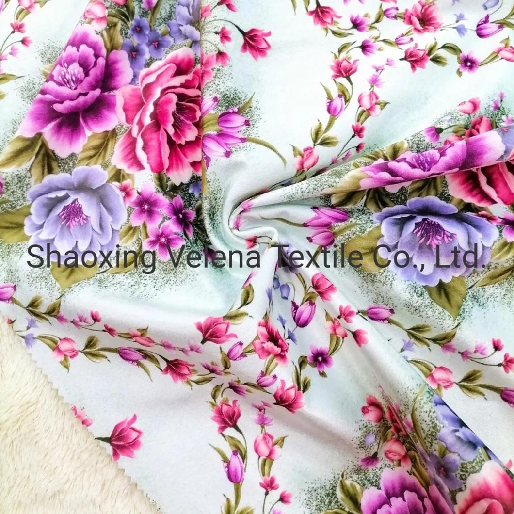 Fudan Venisia FDY Velvet Print with Foil Home Textile Sofa Fabric