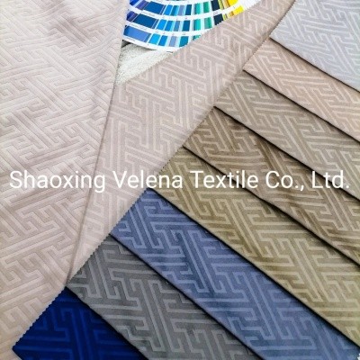 Holland Velvet Dyeing with Emboss Home Textile Upholstery Fabric